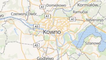 Kauen - szczegółowa mapa Google