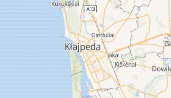 Kłajpeda - szczegółowa mapa Google