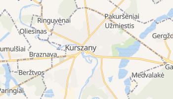 Kurszany - szczegółowa mapa Google