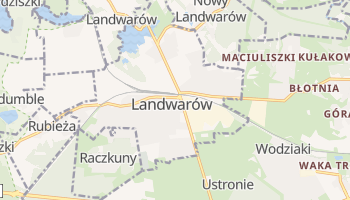 Landwarów - szczegółowa mapa Google