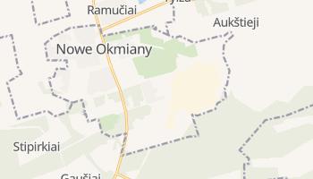 Nowe Okmiany - szczegółowa mapa Google