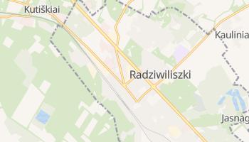 Radziwiliszki - szczegółowa mapa Google