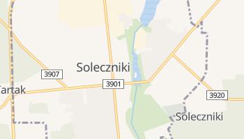 Soleczniki - szczegółowa mapa Google