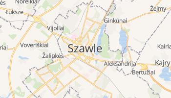 Szawle - szczegółowa mapa Google