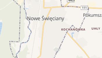 Nowe Święciany - szczegółowa mapa Google