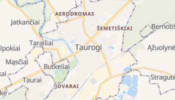 Taurogi - szczegółowa mapa Google