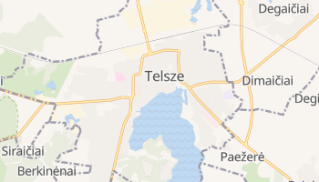 Telsze - szczegółowa mapa Google