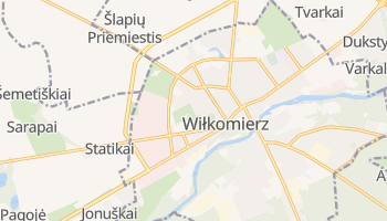 Wiłkomierz - szczegółowa mapa Google