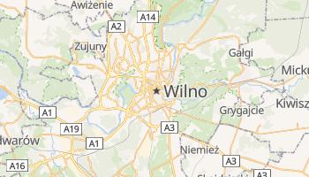 Wilno - szczegółowa mapa Google