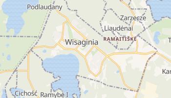 Wisaginia - szczegółowa mapa Google