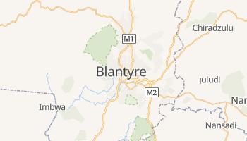Blantyre - szczegółowa mapa Google