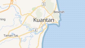 Kuantan - szczegółowa mapa Google