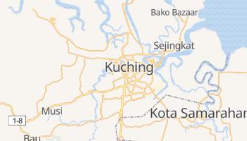 Kuching - szczegółowa mapa Google