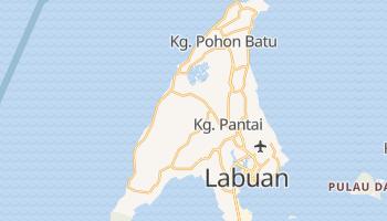 Labuan - szczegółowa mapa Google