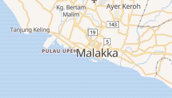 Malakka - szczegółowa mapa Google
