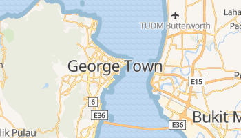 Penang - szczegółowa mapa Google