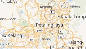 Petaling Jaya - szczegółowa mapa Google