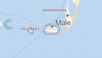 Malé - szczegółowa mapa Google