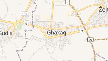 Għaxaq - szczegółowa mapa Google
