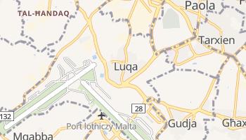 Luqa - szczegółowa mapa Google