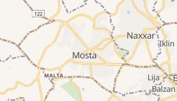 Mosta - szczegółowa mapa Google