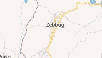 Żebbuġ - szczegółowa mapa Google