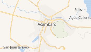 Acámbaro - szczegółowa mapa Google