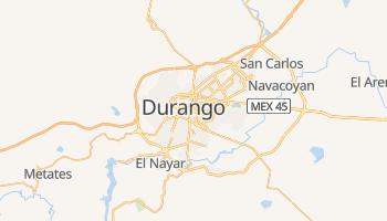 Durango - szczegółowa mapa Google