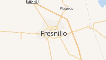Fresnillo - szczegółowa mapa Google