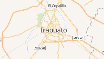 Irapuato - szczegółowa mapa Google