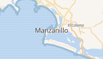 Manzanillo - szczegółowa mapa Google
