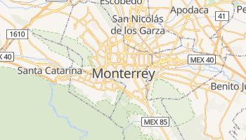 Monterrey - szczegółowa mapa Google