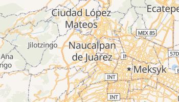 Naucalpan - szczegółowa mapa Google