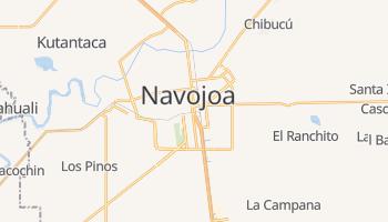 Navojoa - szczegółowa mapa Google