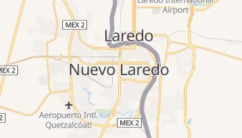 Nuevo Laredo - szczegółowa mapa Google