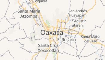 Oaxaca - szczegółowa mapa Google