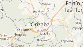 Orizaba - szczegółowa mapa Google