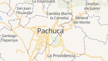 Pachuca - szczegółowa mapa Google