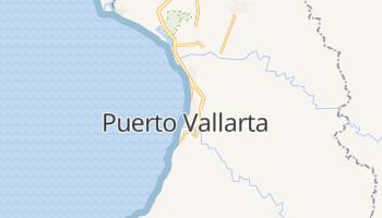 Puerto Vallarta - szczegółowa mapa Google