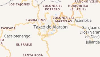 Taxco de Alarcón - szczegółowa mapa Google
