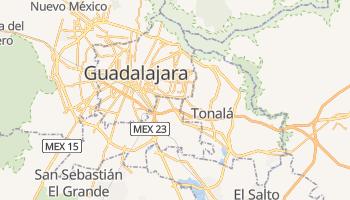 Tlaquepaque - szczegółowa mapa Google