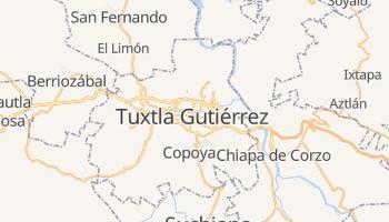 Tuxtla Gutiérrez - szczegółowa mapa Google