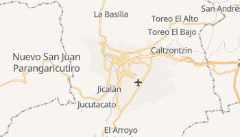 Uruapan - szczegółowa mapa Google