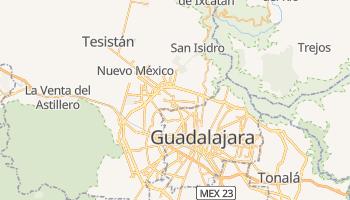 Zapopan - szczegółowa mapa Google