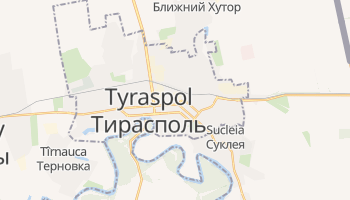 Tyraspol - szczegółowa mapa Google
