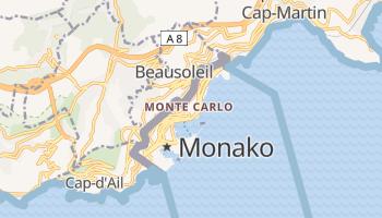 Monte Carlo - szczegółowa mapa Google