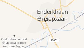 Öndörchaan - szczegółowa mapa Google