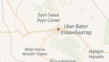 Ułan Bator - szczegółowa mapa Google