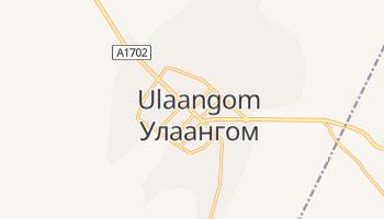 Ulaangom - szczegółowa mapa Google