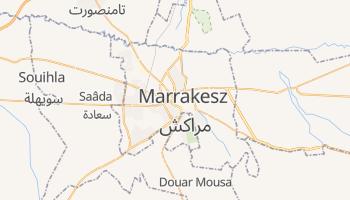 Marrakesz - szczegółowa mapa Google